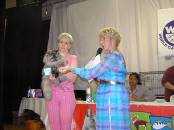 Dubai (UAE) 2006 Roseland's Mishele Best Adult 3 place